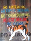 No Cat Selling Print by Richard Lewis