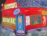 Big Clyde's Bar Print by Richard Lewis